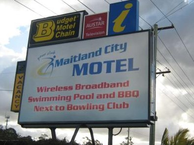 Maitland City Motel - Townsville Tourism