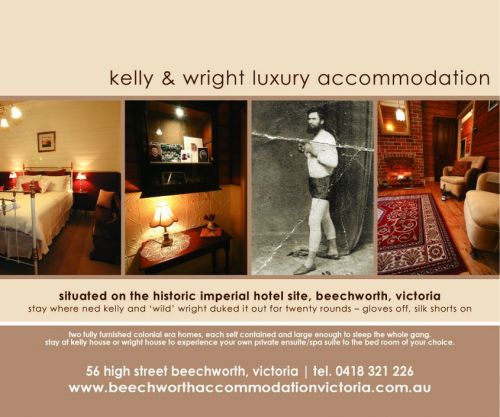 Beechworth Accommodation Victoria - Townsville Tourism