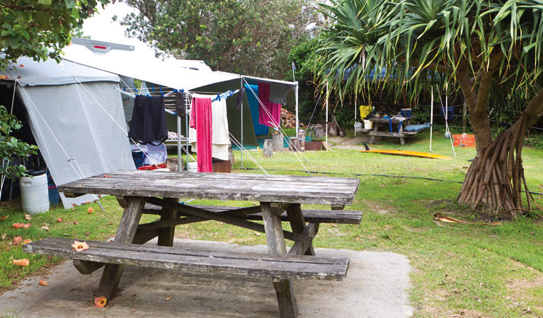 Sandon River campground - Townsville Tourism