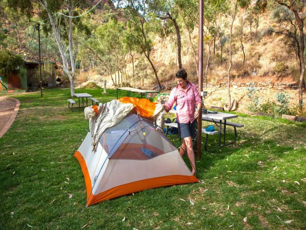 Standley Chasm Angkerle Camping - Townsville Tourism