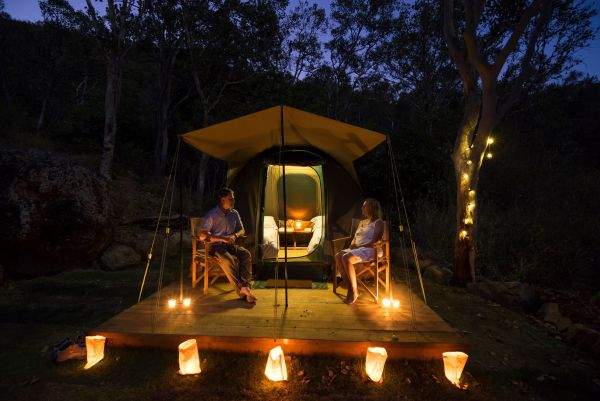 Keswick Island Camping and Glamping - Townsville Tourism