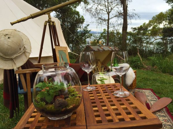 Wingtons Glamping Clarence Point - Townsville Tourism