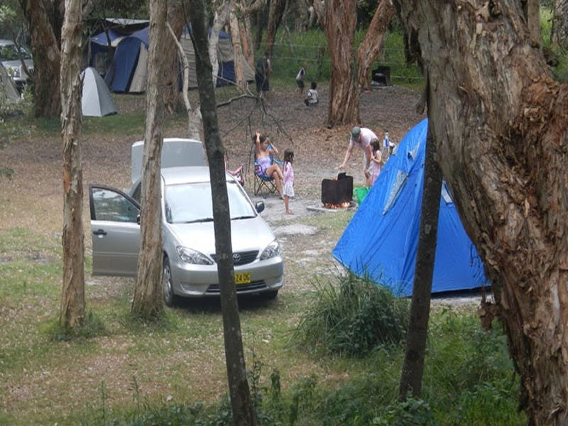 Hungry Gate campground - Townsville Tourism