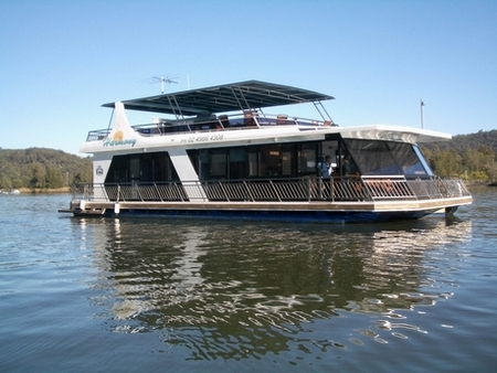 Able Hawkesbury River Houseboats - Townsville Tourism
