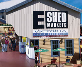 The E Shed Markets - Townsville Tourism