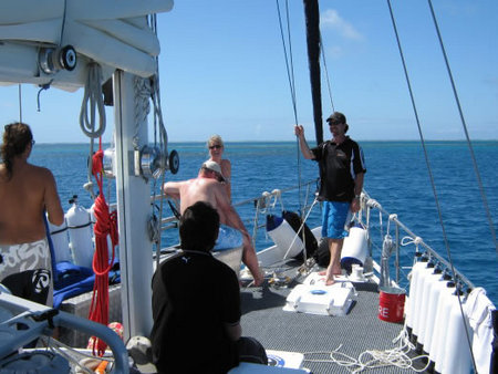 Coral Sea Dreaming Dive And Sail - Townsville Tourism