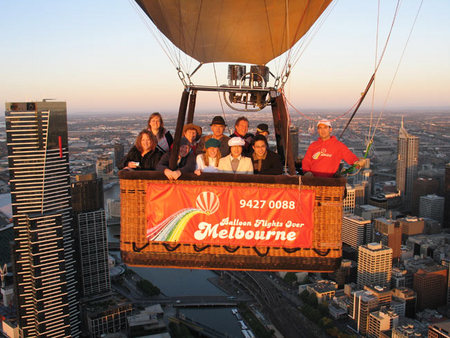 Balloon Flights Over Melbourne - Townsville Tourism