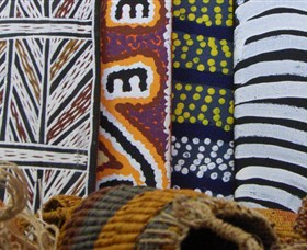 Outstation Gallery - Aboriginal Art from Art Centres - Townsville Tourism