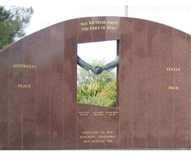 Cowra Italy Friendship Monument - Townsville Tourism
