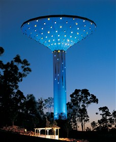 Wineglass Water Tower - Townsville Tourism