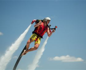 Jetpack Flyboard Adventures - Townsville Tourism