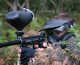 Tactical Paintball Games - Townsville Tourism
