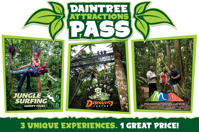 Daintree Atttractions Pass The Best of the Daintree in a Day - Townsville Tourism