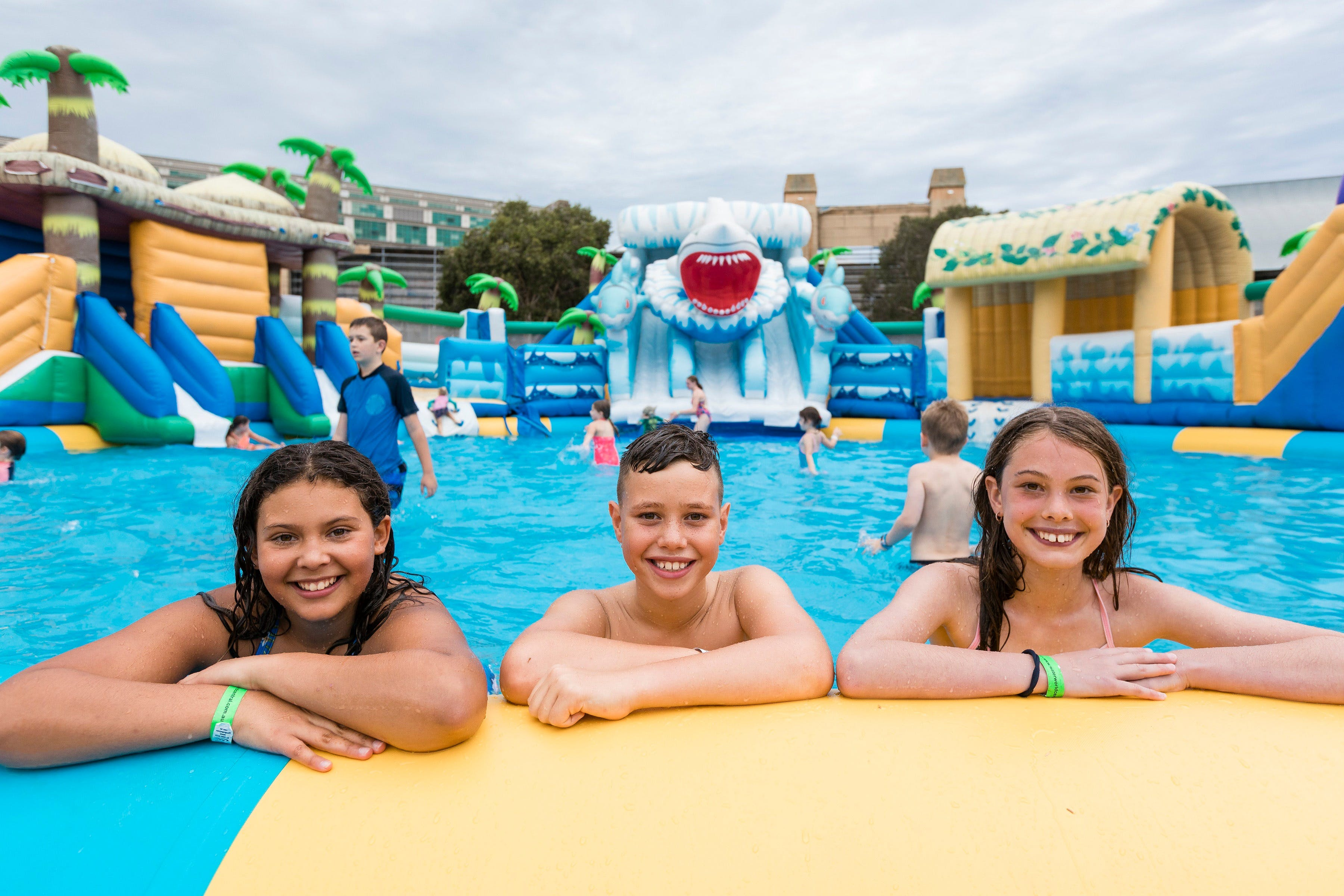 Waterworld Central - Mobile Inflatable Waterpark - Townsville Tourism