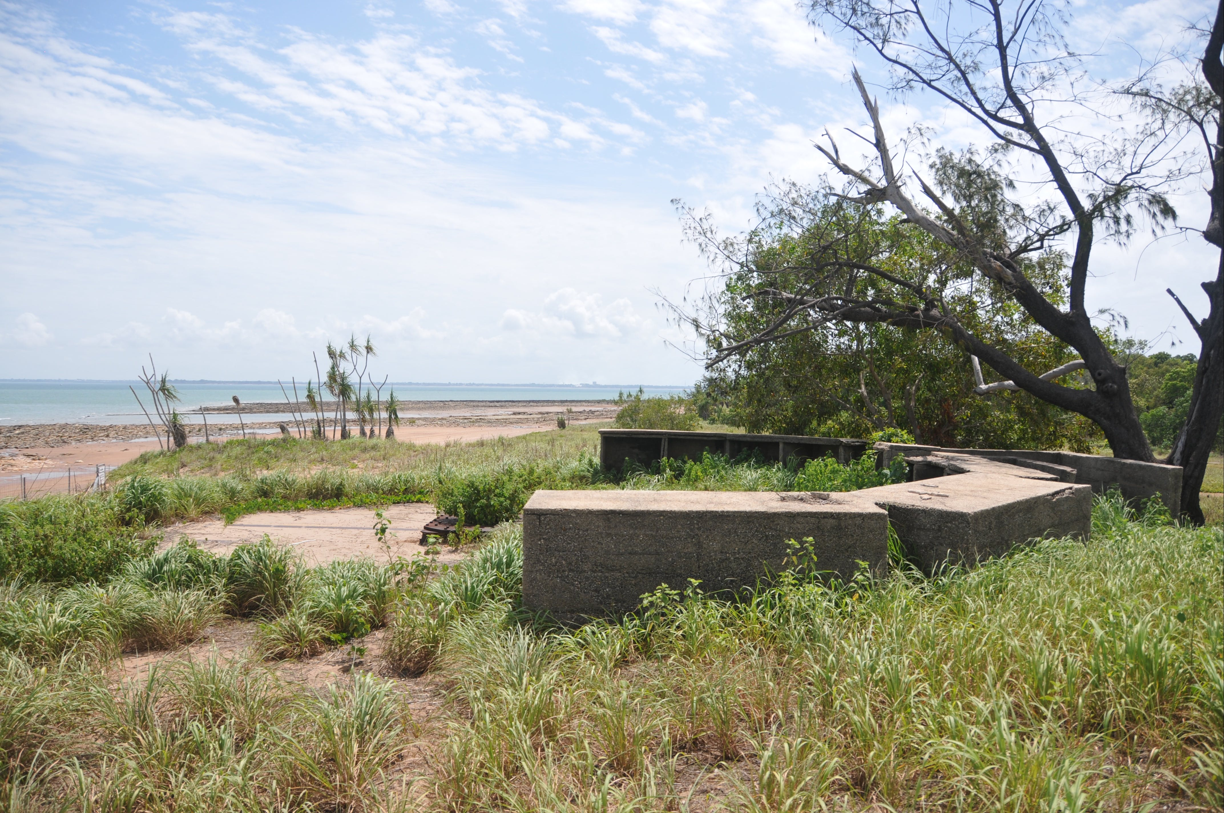 WWII Gun Emplacement Wagait Beach - Townsville Tourism