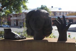 Celebration of life statue Barmera - Townsville Tourism