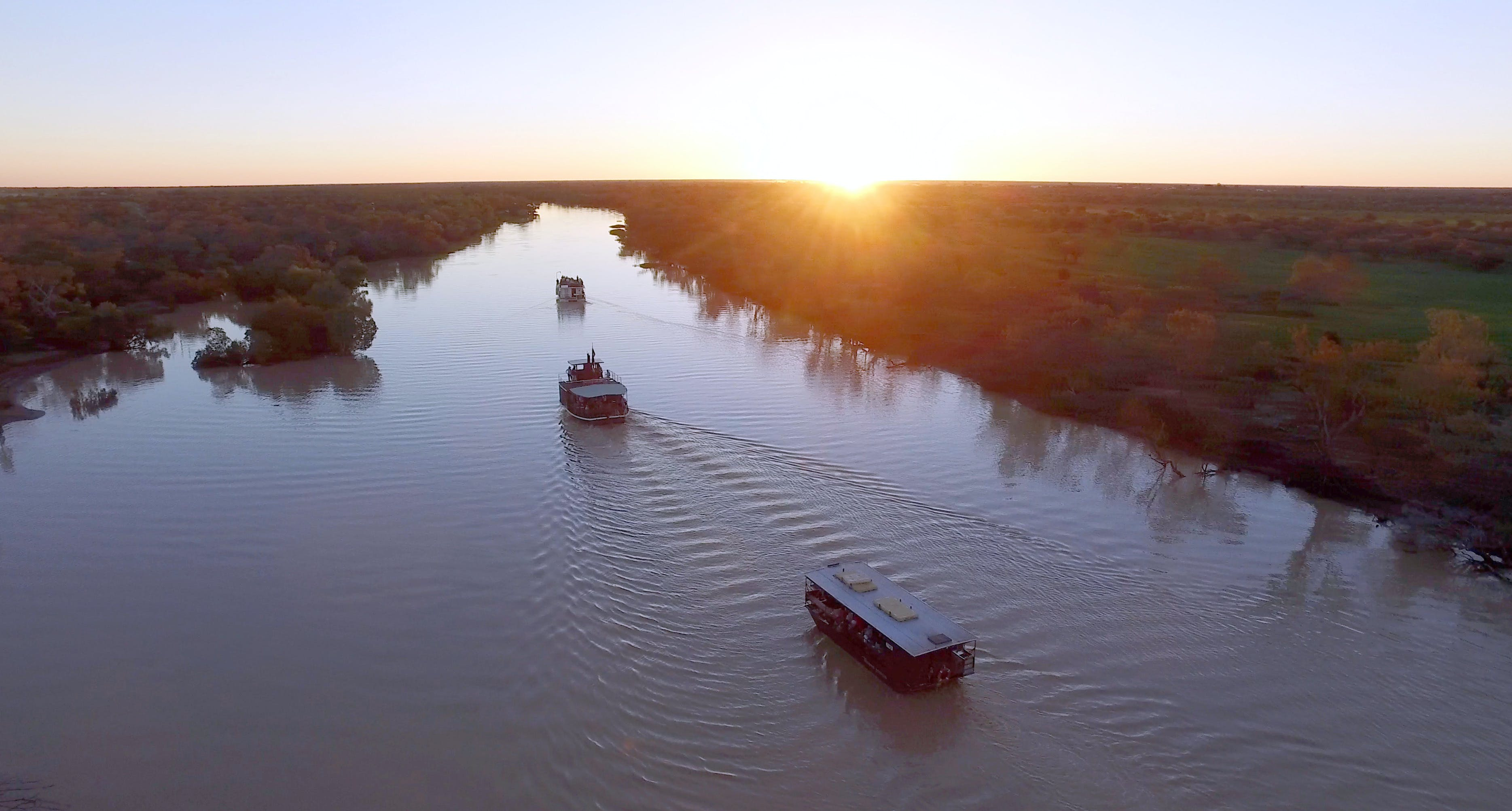Thomson River Longreach - Townsville Tourism