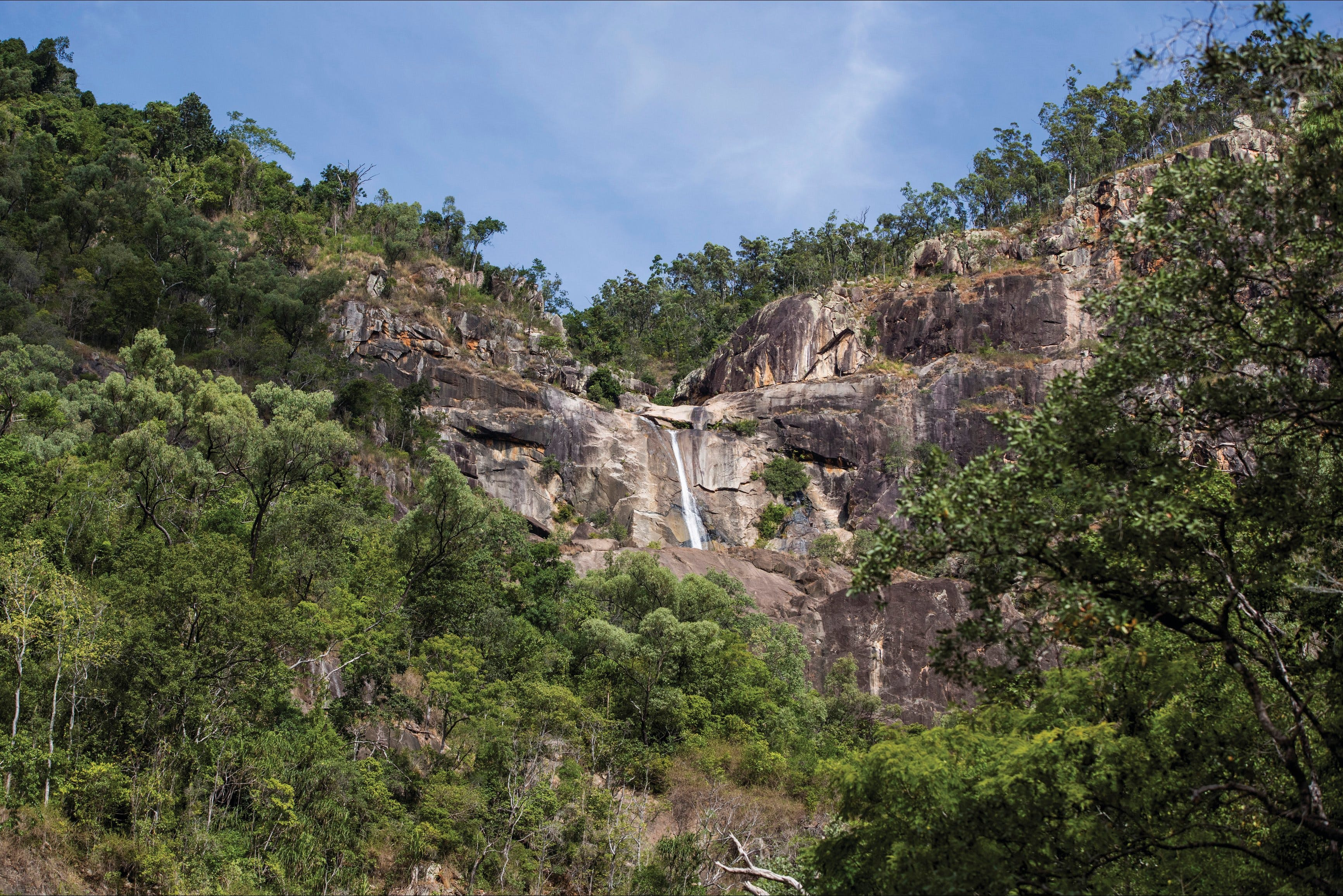 Jourama Falls Paluma Range National Park - Townsville Tourism