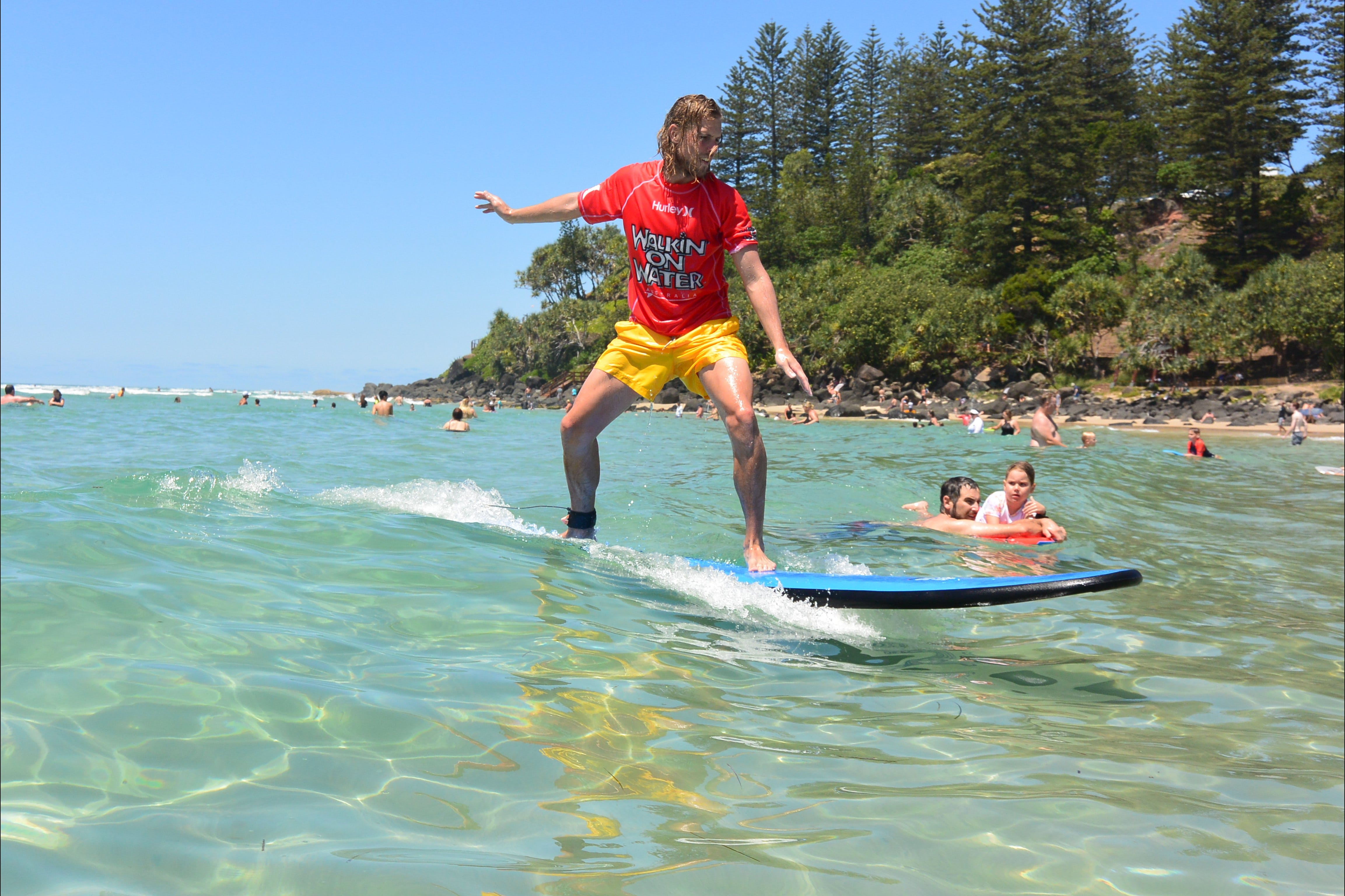Walkin' On Water Surf School - Townsville Tourism