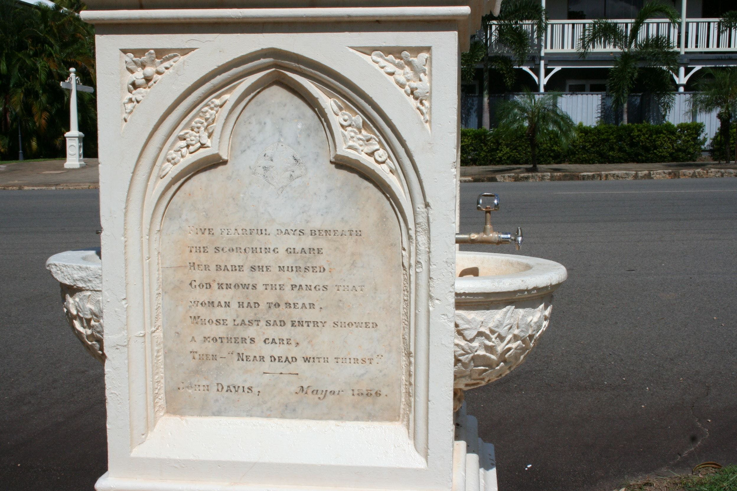 Mary Watson Monument Cooktown - Townsville Tourism