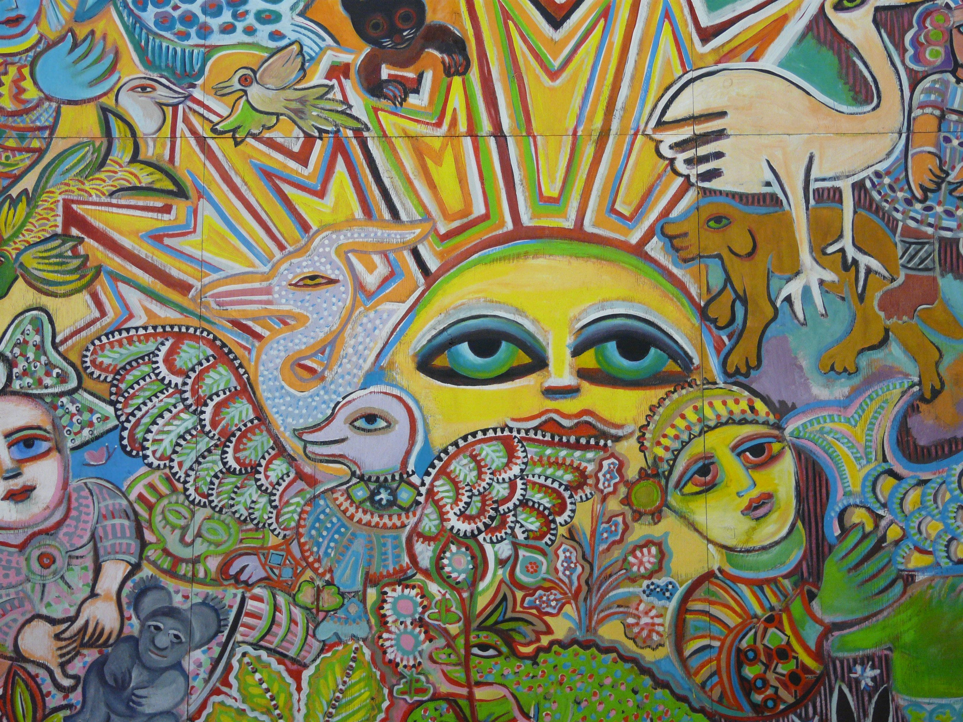The Painting of Life by Mirka Mora - Townsville Tourism