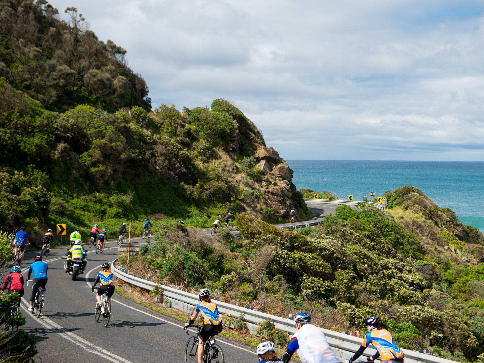 Amy's Great Ocean Road Gran Fondo - Townsville Tourism