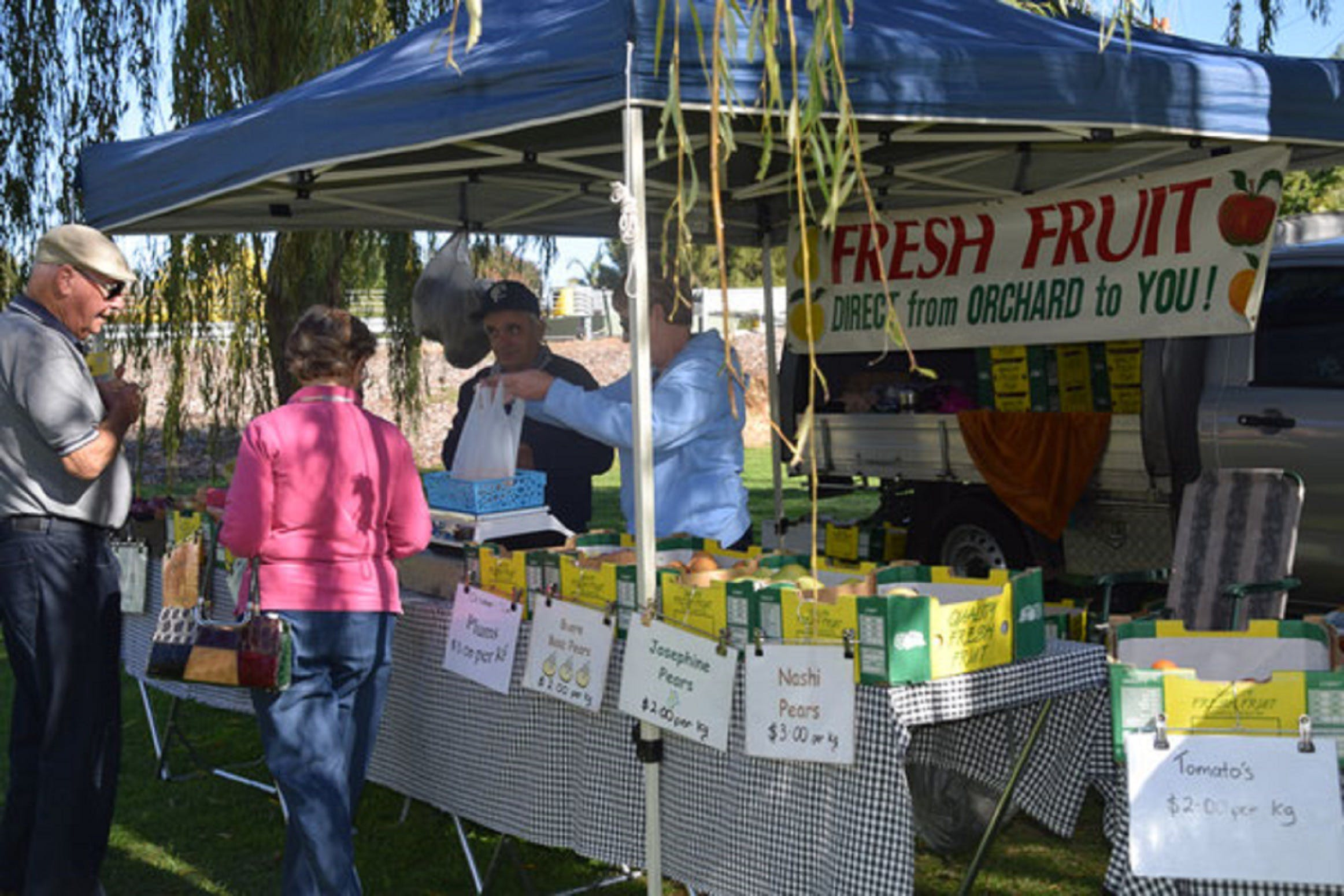 Corowa Rotary Federation Festival Market - Townsville Tourism