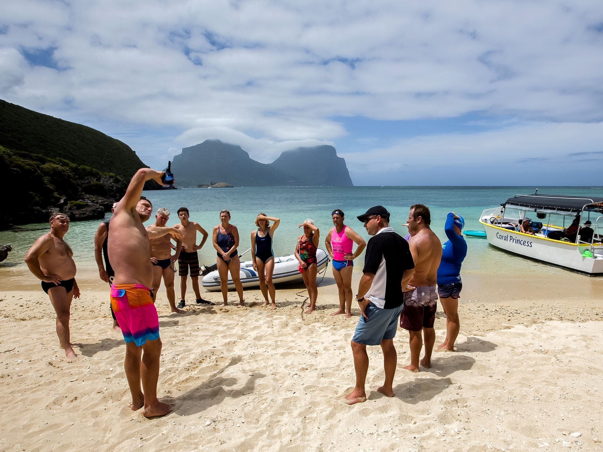 Ocean Swim Week with Trevor Hendy Pinetrees Lord Howe Island - Townsville Tourism