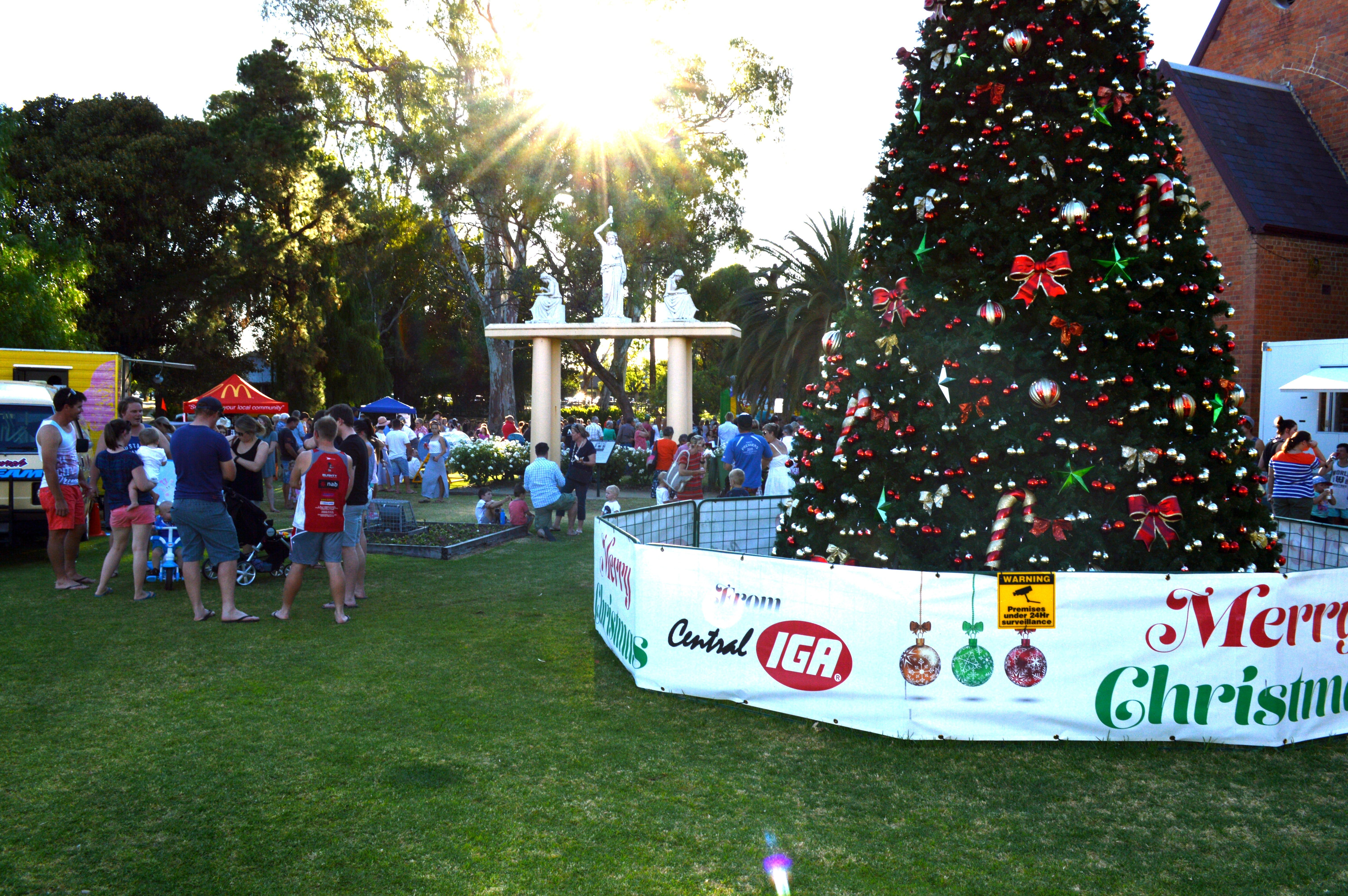 Community Christmas Party and Carols by Candlelight - Townsville Tourism