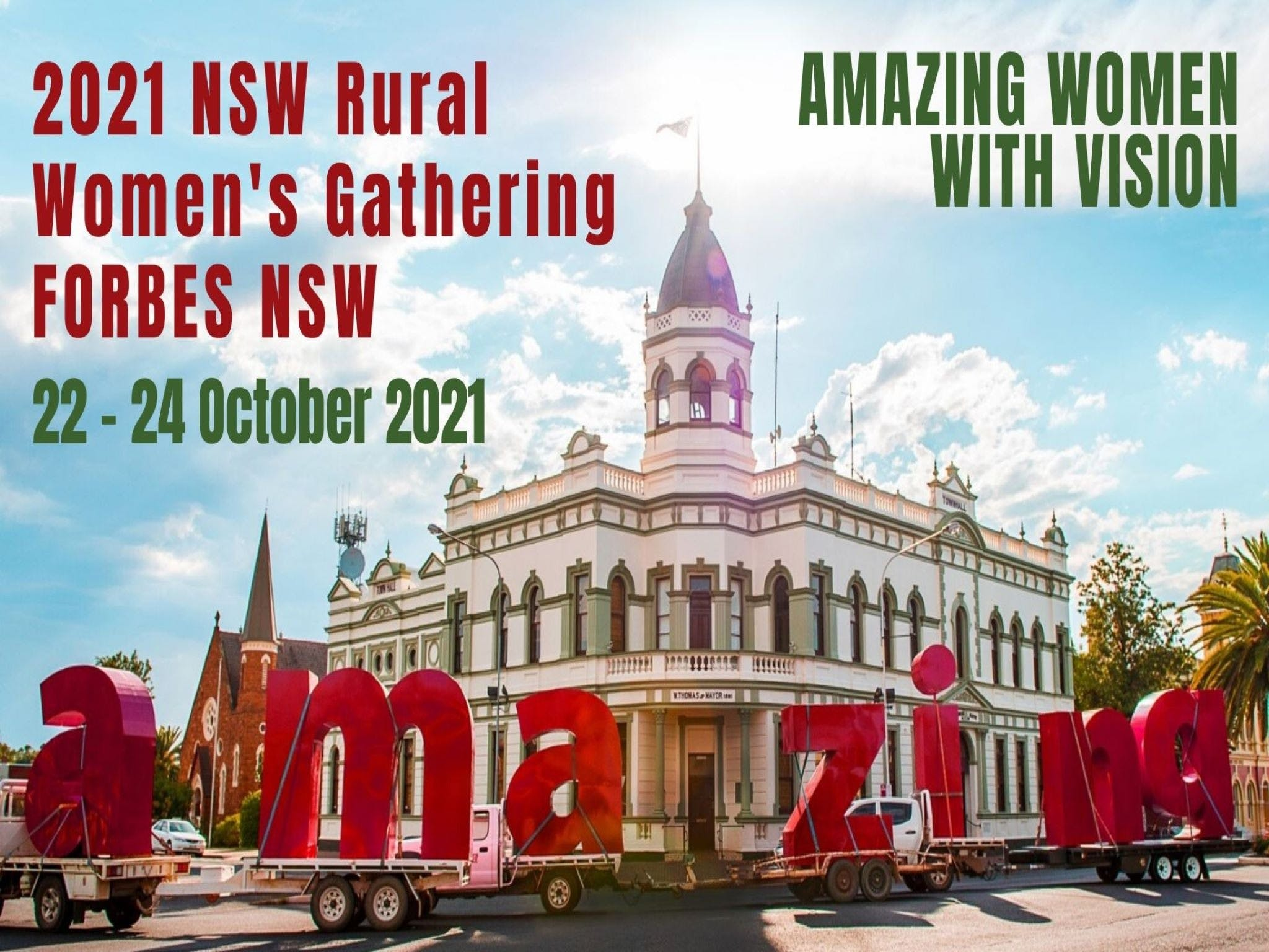 Forbes NSW Rural Women's Gathering - Townsville Tourism