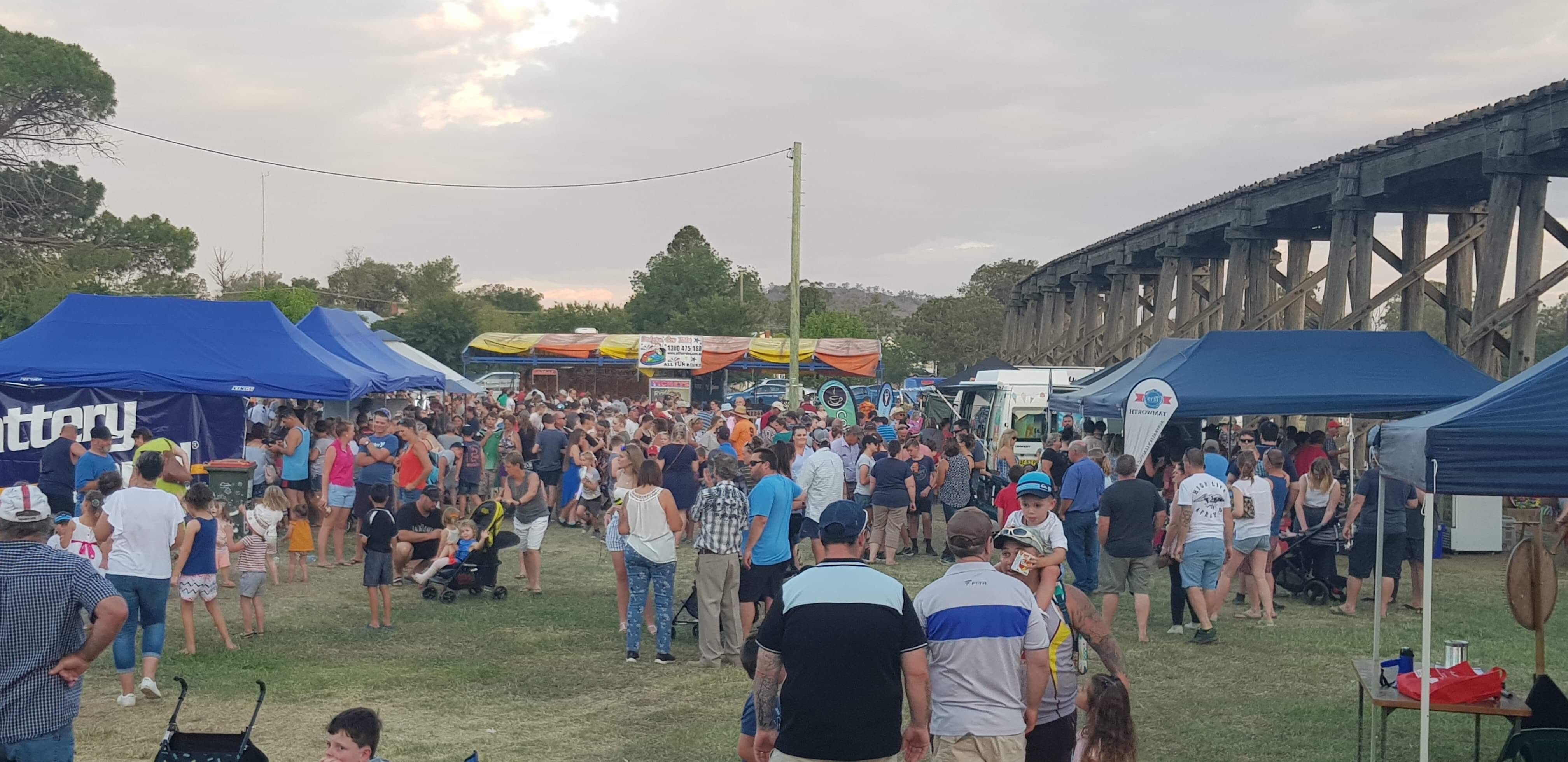 Manilla Minor League New Years Eve Community Carnival - Townsville Tourism