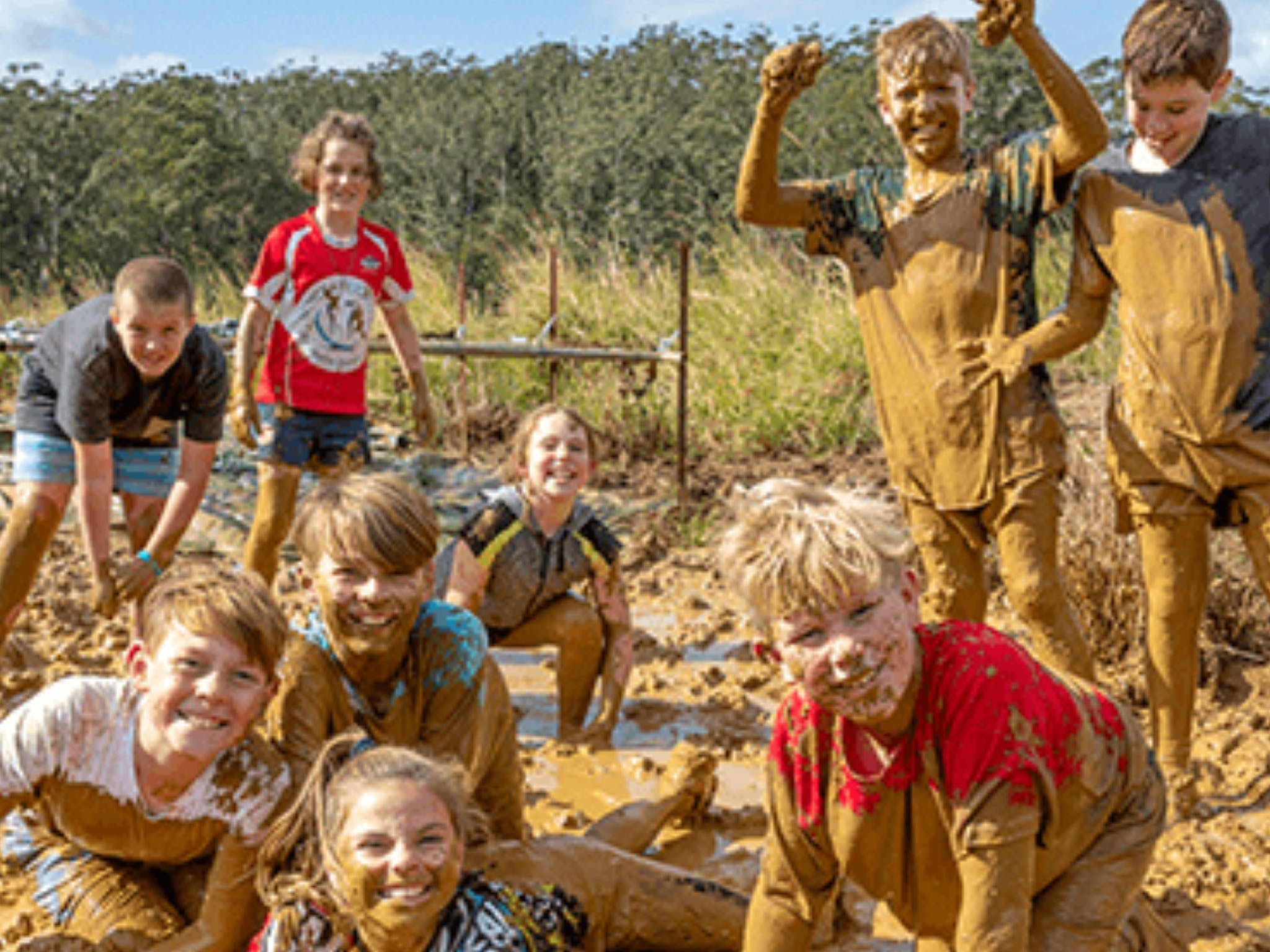 Mini Muddies Obstacle Challenge at Bunnamagoo Estate - Townsville Tourism