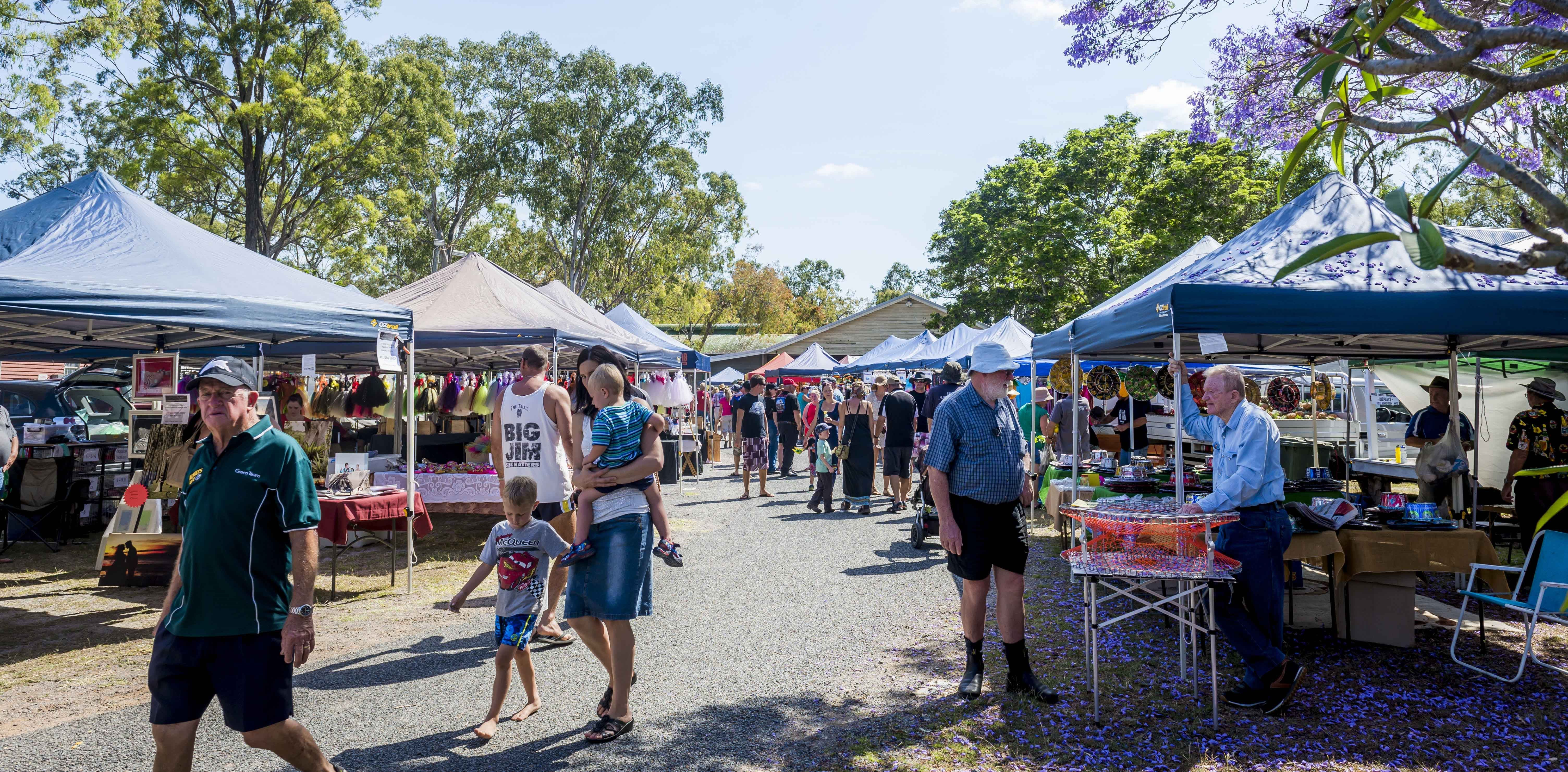 Calliope Historical Village Markets - Townsville Tourism