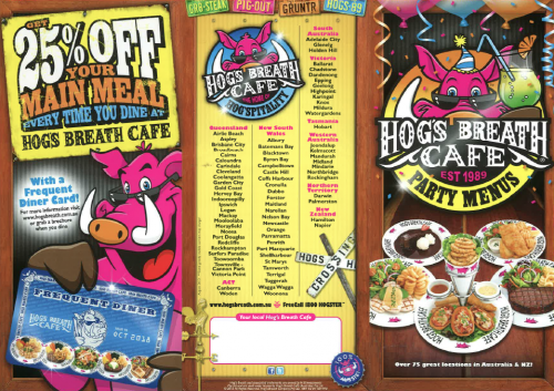Hogs Breath Cafe - Townsville Tourism